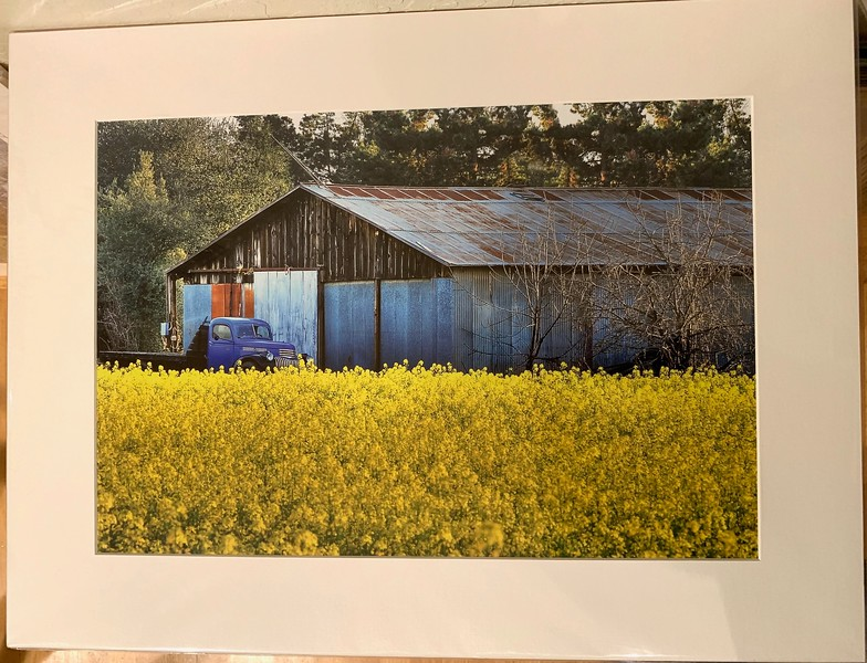 "Grant Road Farm.  18"" x 24"" Fine Art Matted print. Print size is 12.5"" x 18.5"". Arctic white acid-free mat with an acid-free foam core backing in a crystal clear sleeve. These are ready to be framed. Normally $225 each, SALE $39 each or 3 for $99.  I can provide framing as well."