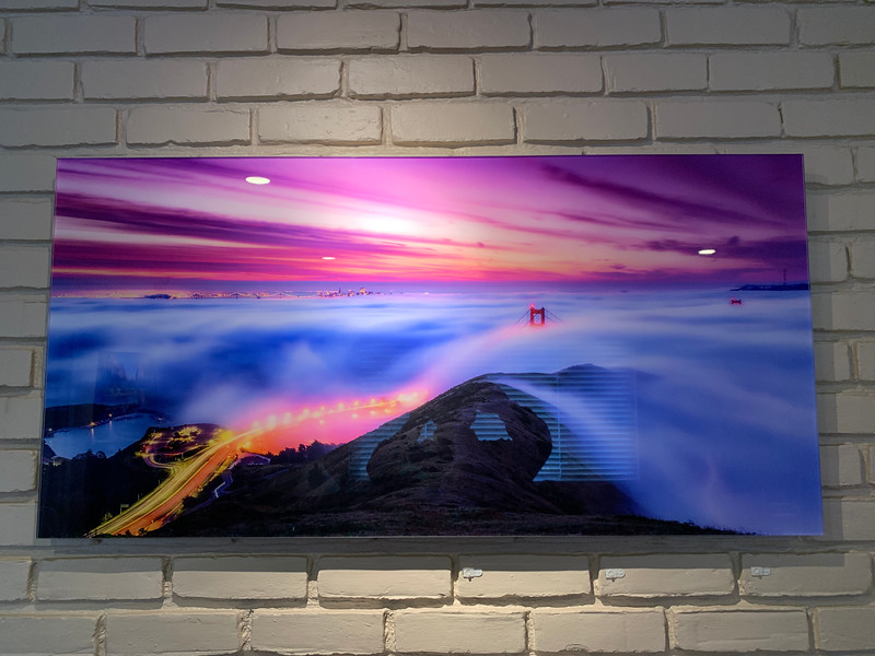 """SOLD!!  24"""" x 48"""" HD Acrylic Print """"Above the Fog"""" -- 9.8/10 Condition (Like new)  -Email or Call to purchase. 24"""" x 48"""" Normally $1500, This print is on sale for $500. HD Acrylic Prints are prints between a sheet of crystal clear Acrylic and backed floating about a 1/2"""" off the wall.  These just glow on your walls.  Email me to purchase this sample print --- Yosemiteguy  @ jharrisonphoto.com"""