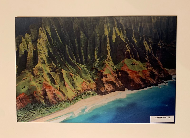 "8"" x 12"" Metal Print.  Along the Napali Coast.  Normally $99.  SALE $25"