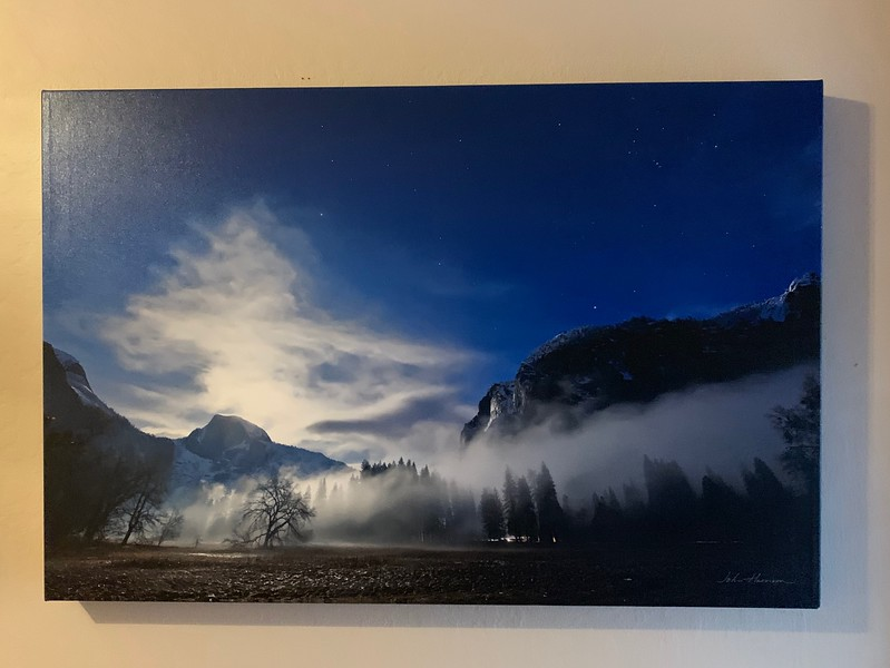 "20"" x 30"" Gallery-wrapped canvas Giclée Normally $350 SALE $99  Condition 8/10"