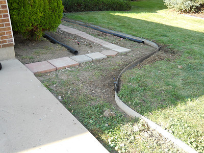 Day #2 - Curve in landscape edging