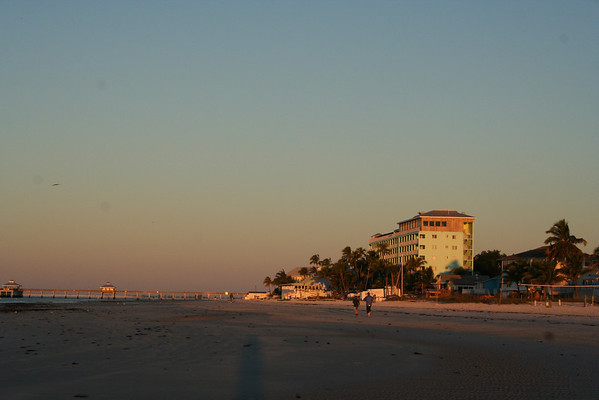 Ft Myers beach early morning