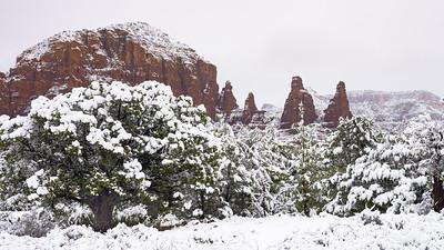 Snow on the Nuns