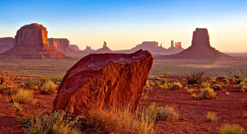 A Monumental Rock
