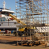 A new BC Ferry under construction at Point Hope Shipyard.