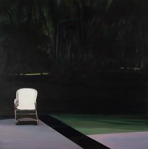 Garden in Luca, White Chair