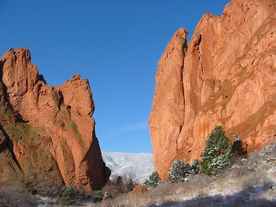 Garden of the Gods and rock climbing