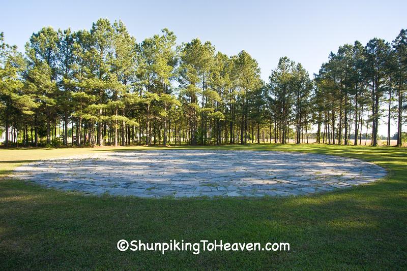 Mebane Labyrinth, Four Oaks, North Carolina