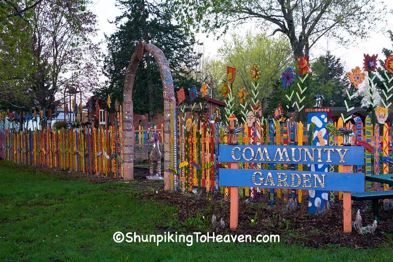 Community Garden, Sauk County, Wisconsin