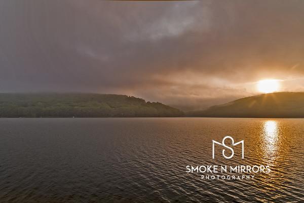 Burning Lake