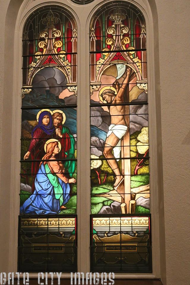 IMG_3632 Stained Glass Window St Patricks