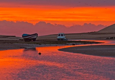 Red dawn Alnmouth 2