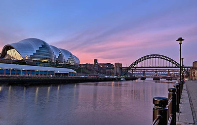 Early morning river Tyne
