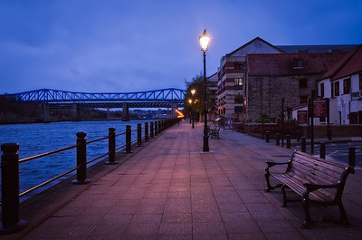 Newcastle Quayside, early morning