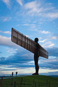 Photographing the Angel of the North