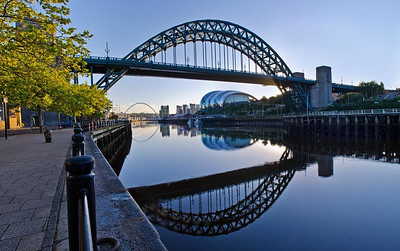 Reflections on the Tyne