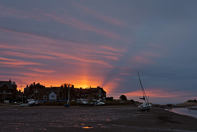 Sunrise at Alnmouth