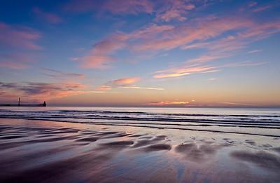 Blyth beach ealy morning