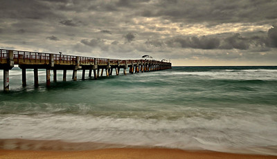 Lake Worth Pier. April 11, 2013.