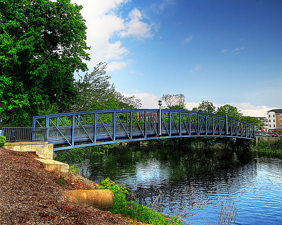 Foot Bridge, Down town Milford, CT