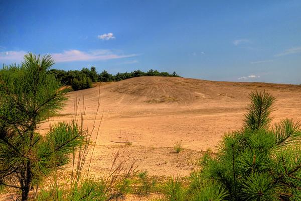 Dunes off I95 in Rhode Island