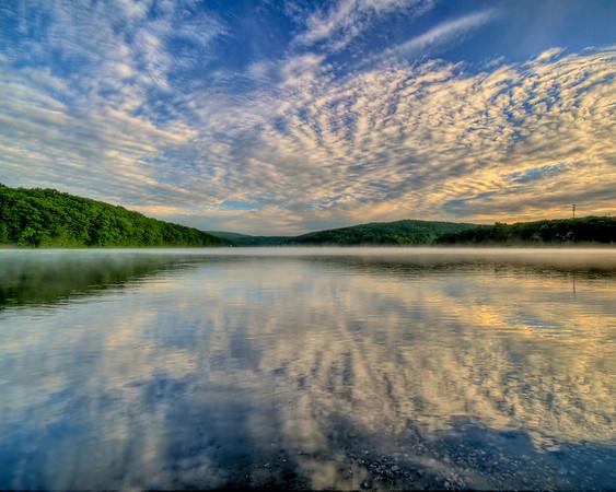 A beautiful morning on Lake Zoar.