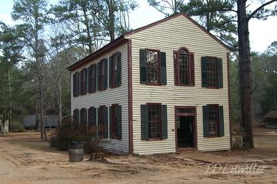 Westville 1850s village    Lumpkin, GA