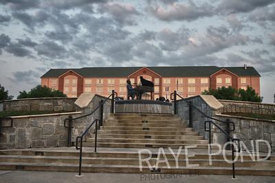 Ray Charles Memorial.