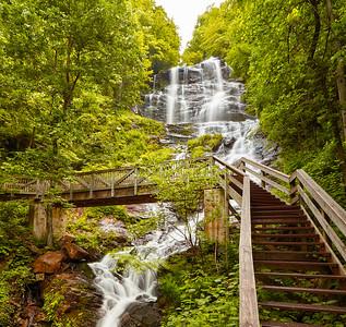 Amicalola Falls Pano