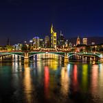 """Frankfurt Skyline at Night"""