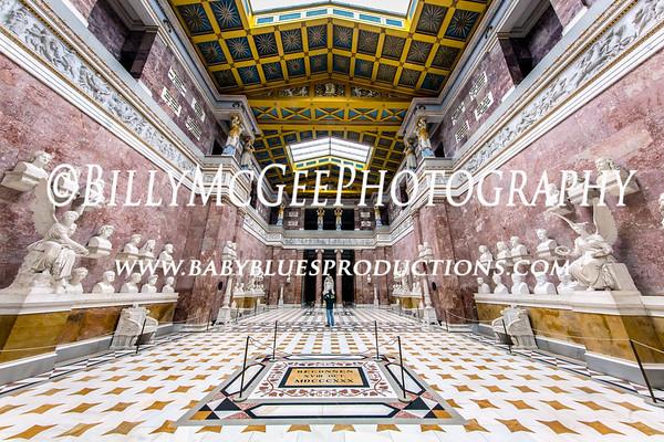 Walhalla Temple - Regensburg Germany - 21 July 2016