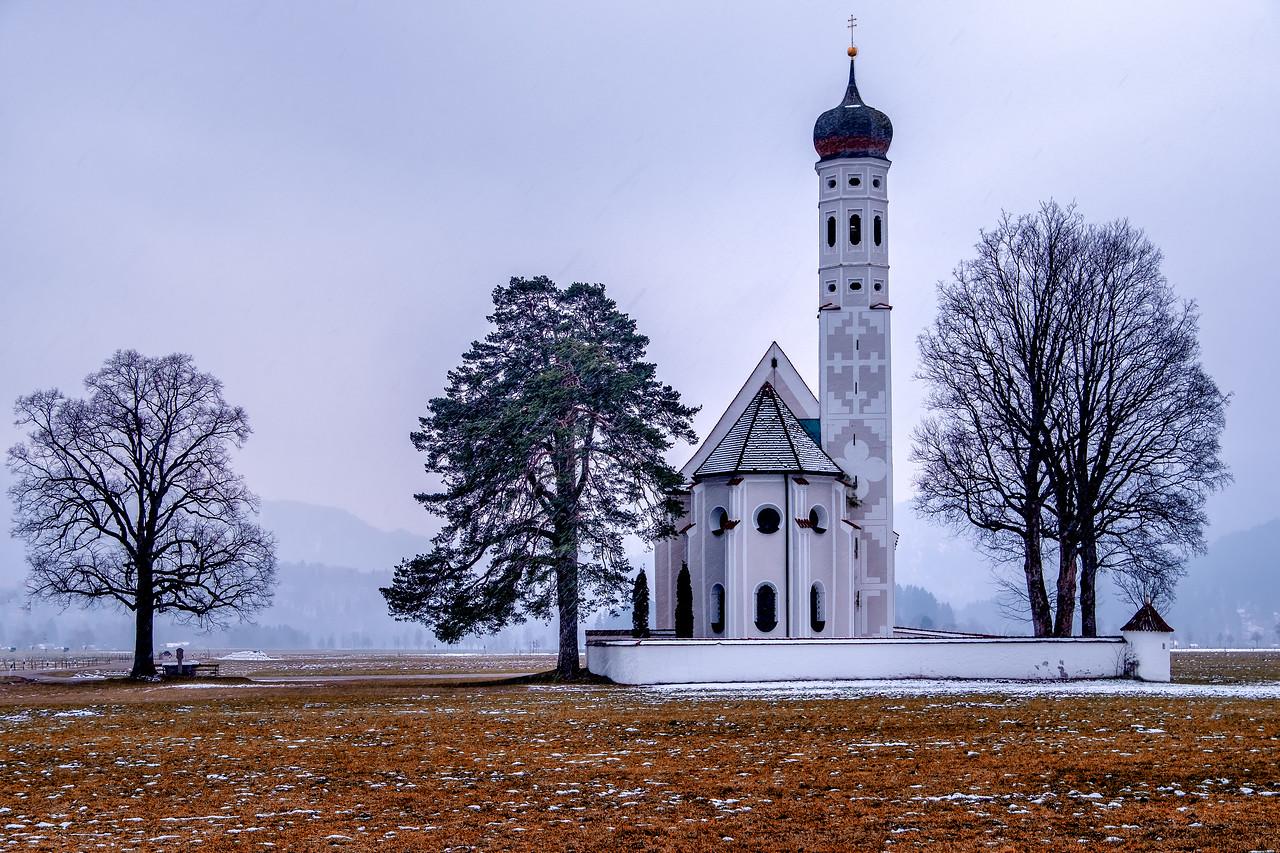 St. Coloman Church in Schwangau