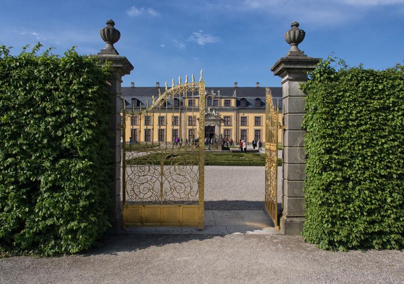 The Golden Gates of Herrenhausen
