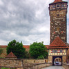 Entrance to Rothenburg, a beautiful still-walled city