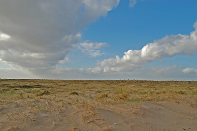 Dunes, saltmarsh and big sky