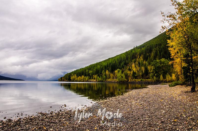 1305  G Lake McDonald and Colors Sharp