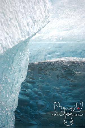 Glacier Ice up close