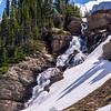 772  G Waterfall Near Logan Pass V