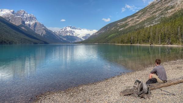 Glacier Lake - Icefields Parkway