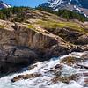 148  G Many Glacier Falls V