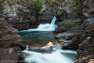 http://reallyrightstuff.com/websiteinfo.aspx?fc=125.  St Mary falls in Glacier national park.  This was shot with a D800 mounted on a really right stuff BD800-L, L bracket.
