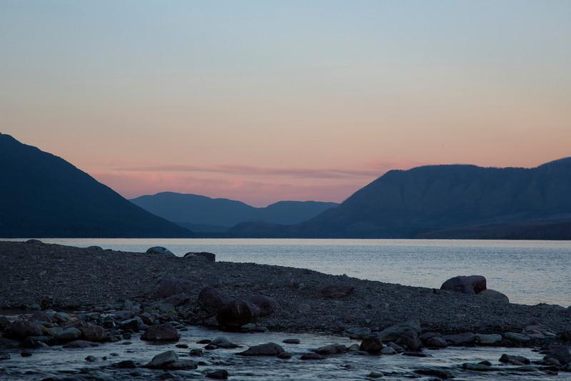 McDonald Lake Sunrise