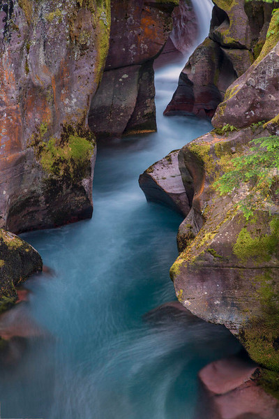 Avalanche Gorge, West Glacier National Park