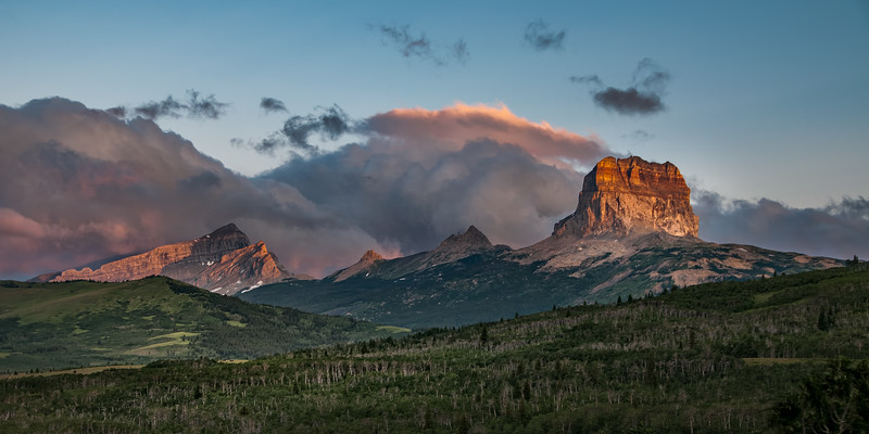 Chief Mountain, Glacier NP