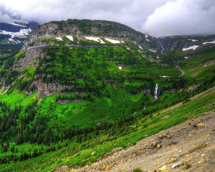 Going to the sun road and Logan Pass - Glacier National Park (40 of 44)