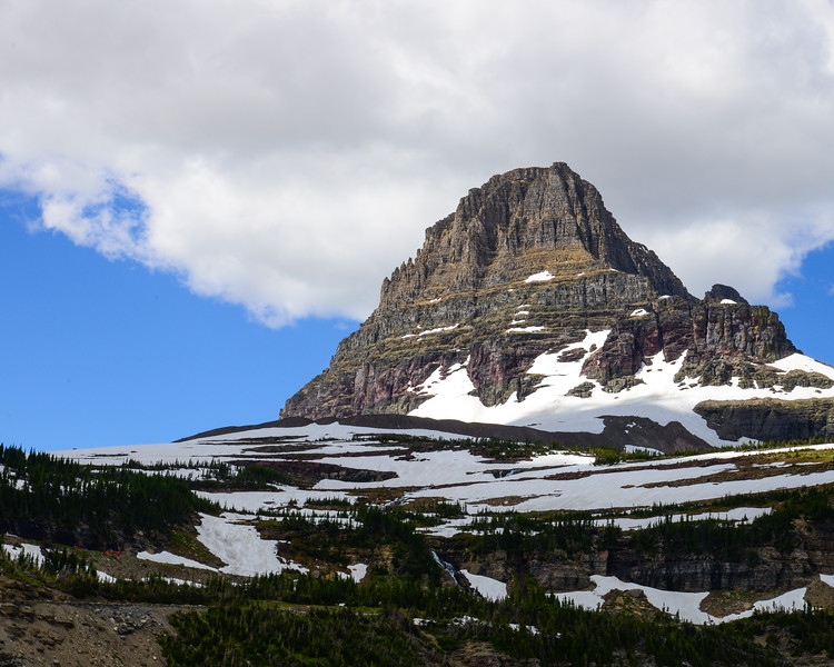 Going to the sun road and Logan Pass - Glacier National Park (20 of 44)