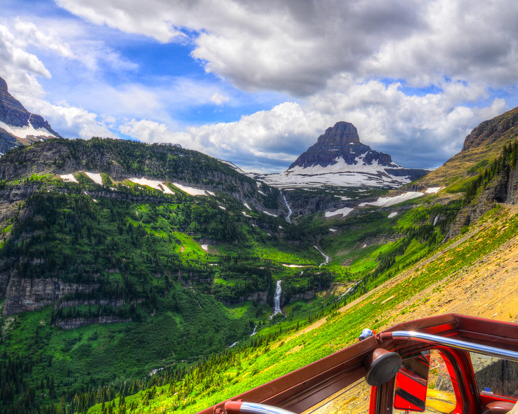 Going to the sun road and Logan Pass - Glacier National Park (28 of 44)