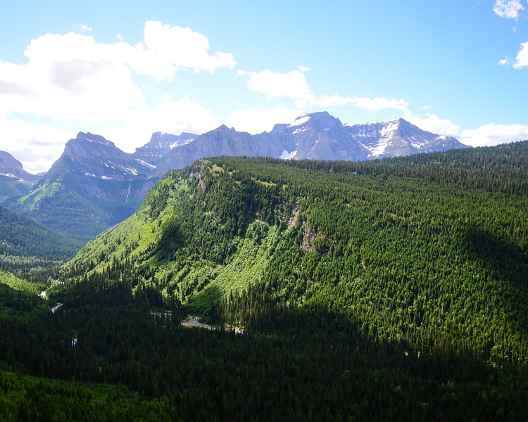 Going to the sun road and Logan Pass - Glacier National Park (7 of 44)