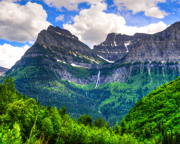 Going to the sun road and Logan Pass - Glacier National Park (37 of 44)