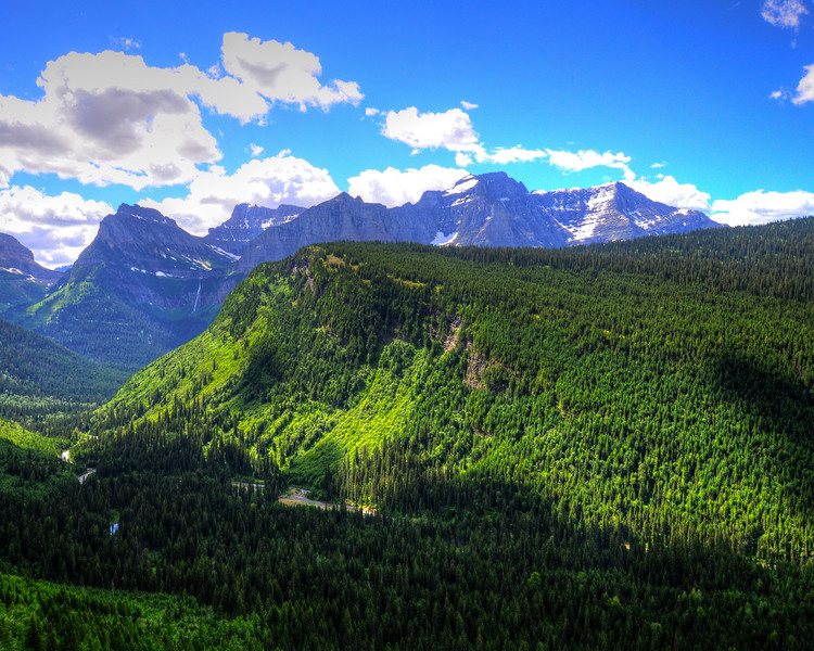 Going to the sun road and Logan Pass - Glacier National Park (8 of 44)